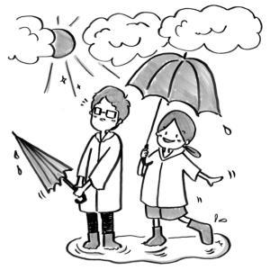 晴れの日も、雨の日も。どんな自分も受け入れる。
