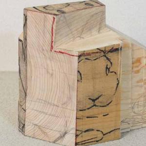 檜のひなつちゃん(仮)を作っています。