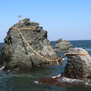 夫婦岩の二見興玉神社で愛を叫ぶ?めおチューで復活愛?夫婦円満?