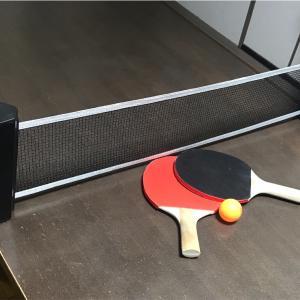 梅雨時期のストレス解消!自宅でできる卓球セットがおススメ!