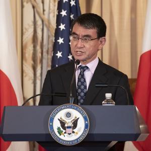 河野太郎外相が海外メディアで韓国批判!原文をコピペして英語を学ぶ