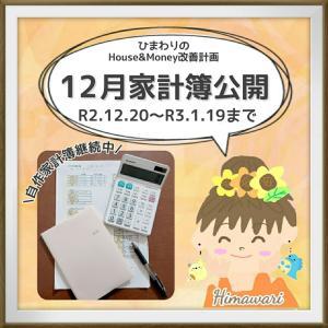 【予算ギリギリ〆】冬休み費に頼って黒字化させた家計簿