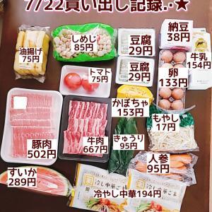 1万円分も大量の買い出し(* ゚∀゚)夏といえばやっぱコレ♡
