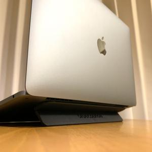 "Mac使いなら買うべきオススメのスタンド""Bluelounge Kickflip"""