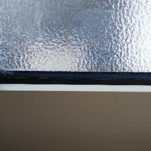 結露なしのトリプルガラス  エルスターX 熱貫流率は0.91