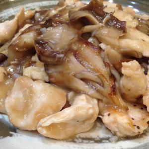 【NHKあさイチレシピ】で「まいたけと鶏むね肉の山東風炒め」をつくってみました♡