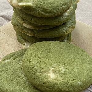 ステラおばさんのクッキー風🍪「抹茶×ホワイトチョコのクッキー」のかんたんレシピ