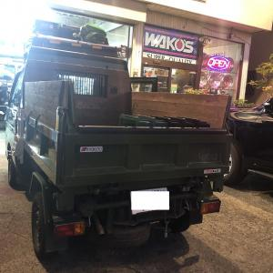 ハイゼットトラックのオイル交換