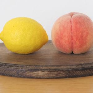 今年初の桃モッツァレラをランチに