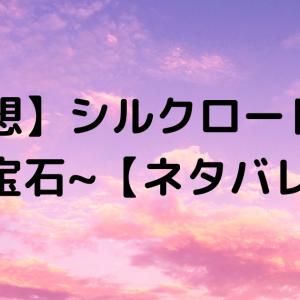 【感想】シルクロード~盗賊と宝石~【ネタバレ】