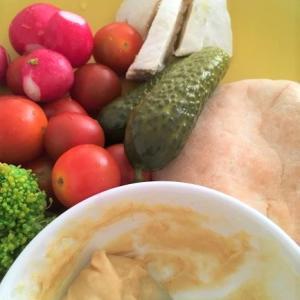 野菜と味噌マヨ 黄色くてもブロッコリーはブロッコリー