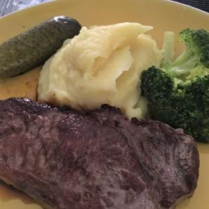 肉はしっかり焼きたい派です