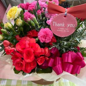 もうすぐ母の日、今日は花を選びに