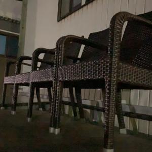 我が家に椅子がやってきた…