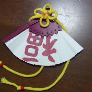 天晴爛漫!ジン・シャーレンちゃんの扇子の髪飾りの作り方!