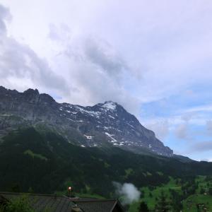 スイスハイキング      グリンデルワルト・市内散策