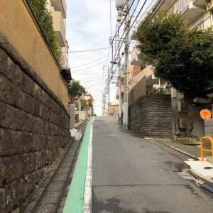 東京の100坂道を歩く    戒行寺坂