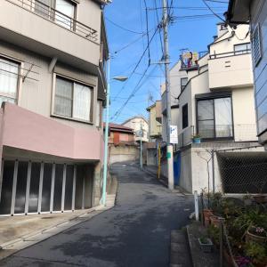 東京の200坂道を歩く    南坂