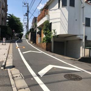 東京の200坂道を歩く    有松坂