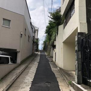東京の200坂道を歩く    ゆうれい坂