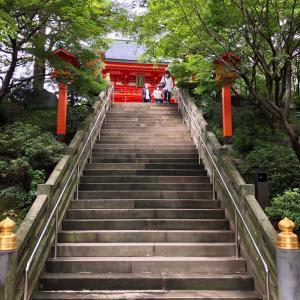 東京の200坂道を歩く    高田八幡男坂