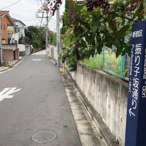 東京の200坂道を歩く    振り子坂