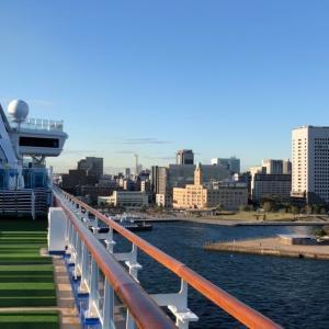 ダイヤモンドプリンセス   【動画あり】船上から眺める横浜港