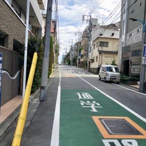 東京の200坂道を歩く    【動画あり】銀杏坂