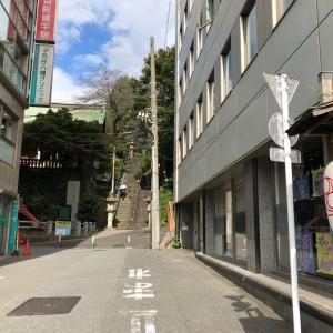 東京の300坂道を歩く    【動画あり】市谷八幡男坂