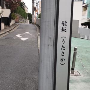 東京の300坂道を歩く    【動画あり】歌坂