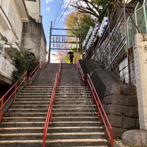 東京の300坂道を歩く    【動画あり】須賀神社男坂