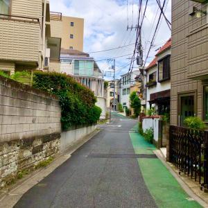 東京の300坂道を歩く    【動画あり】汐見坂