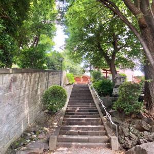 東京の300坂道を歩く    【動画あり】田端八幡男坂