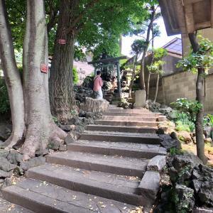 東京の300坂道を歩く    【動画あり】田端八幡女坂