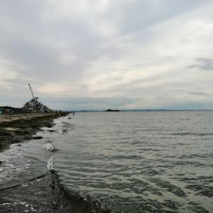 【後編】梅雨の晴れ間に富津岬で海遊びとデイキャン!