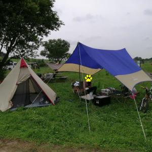 ワンポールテントでデイキャンプ!