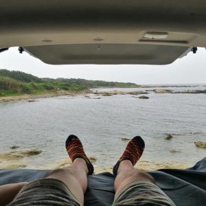 【後編】千葉で一番海に近いキャンプ場・お台場海浜庭園でキャンプと車中泊!