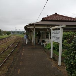 再訪!上総鶴舞駅にちょっと立ち寄る。