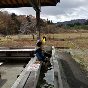 無料の花園足湯温泉/栃木県那須塩原の温泉