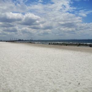 いなげの浜でまったり。