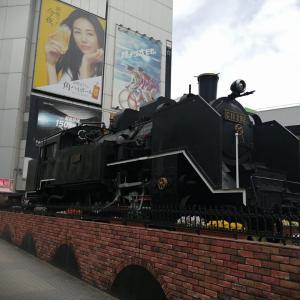 新橋駅のSL広場/東京散歩