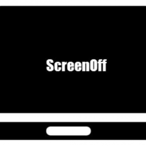 ワンクリックでディスプレイの電源オフ「ScreenOff」が便利