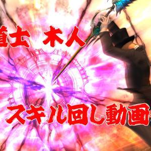 【FF14】赤魔道士の木人スキル回しについて5.01 Lv80