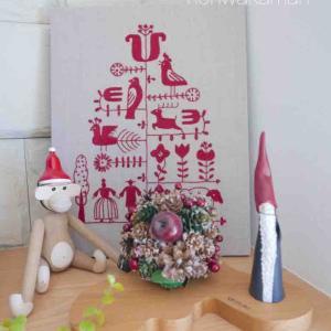 お気に入りだけ飾るクリスマス~北欧雑貨と手作りと