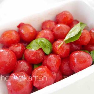 プチトマト低温調理~驚く美味しさでハマりすぎ(^^)