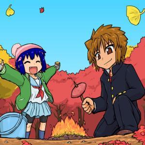 【塗り絵】食欲の秋!
