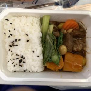 金浦→羽田の機内食♡