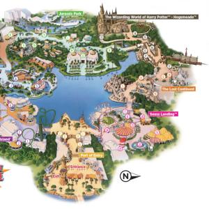 フロリダ在住が教える! ユニバーサルスタジオ ④ Universal's Island of Adventure