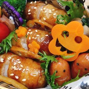 10月15日(火) ソーセー人と豚バラの肉巻おにぎり弁当