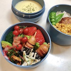 2月21日(金) リクエスト!野菜多め弁当(ピーマンのきんぴら必須)